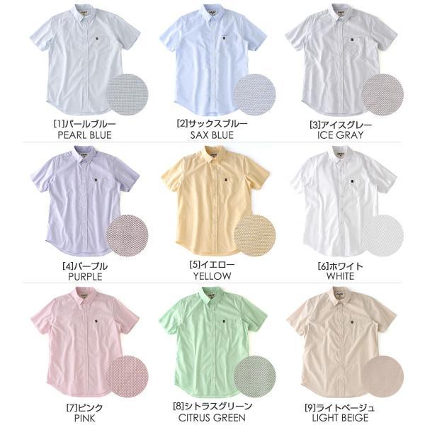 シャツ 半袖 メンズ ボタンダウン オックスフォード 大きいサイズ 日本規格|ブランド EAGLE THE STANDARD イーグル|半袖シャツ|f-box|02