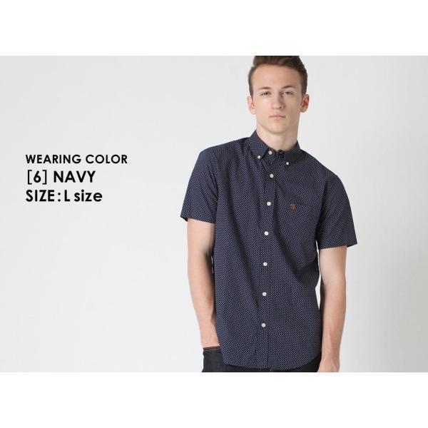 シャツ 半袖 メンズ ボタンダウン ポケット ドット柄 大きいサイズ 日本規格|ブランド EAGLE THE STANDARD イーグル|半袖シャツ カジュアル 2019 春夏 新作|f-box|14