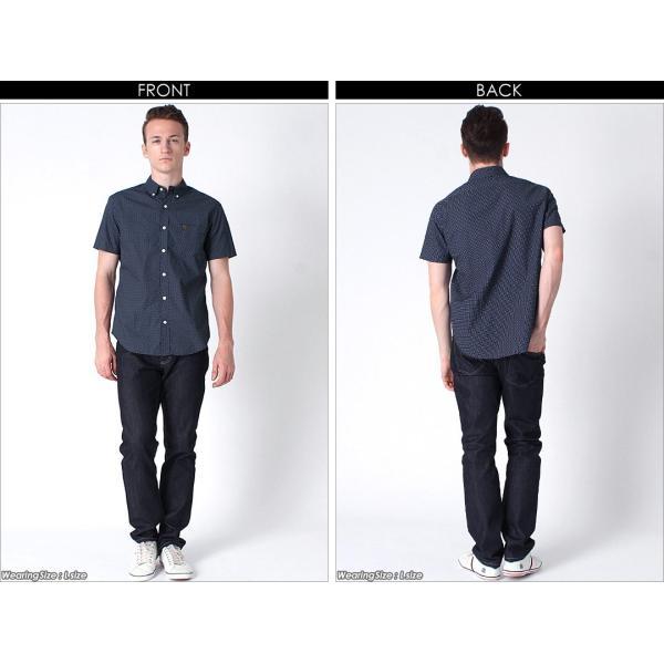 シャツ 半袖 メンズ ボタンダウン ポケット ドット柄 大きいサイズ 日本規格|ブランド EAGLE THE STANDARD イーグル|半袖シャツ カジュアル 2019 春夏 新作|f-box|16