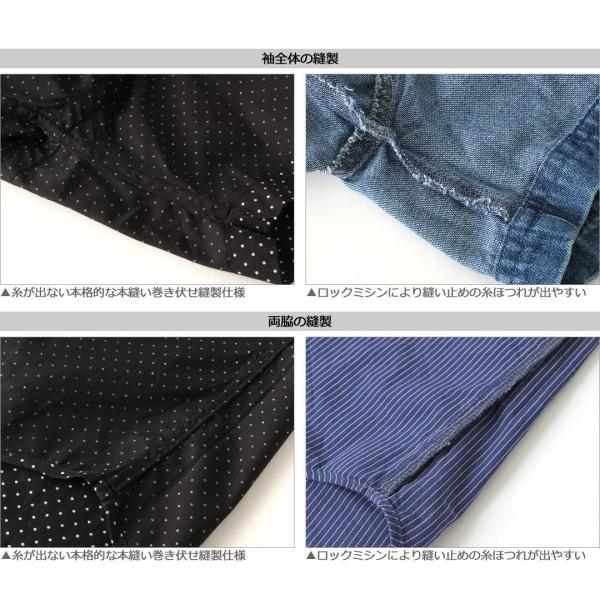 シャツ 半袖 メンズ ボタンダウン ポケット ドット柄 大きいサイズ 日本規格|ブランド EAGLE THE STANDARD イーグル|半袖シャツ カジュアル 2019 春夏 新作|f-box|07