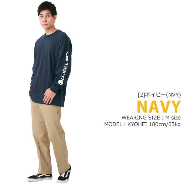 カーハート ロンT 袖ロゴ メンズ Tシャツ 長袖 6.75oz 大きいサイズ k231 USAモデル│ブランド 長袖Tシャツ アメカジ|f-box|10