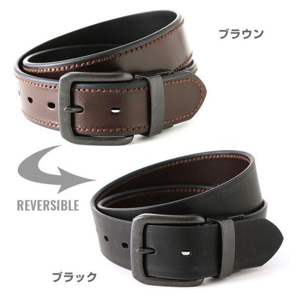 リーバイス ベルト リバーシブル 40mm メンズ 大きいサイズ USAモデル|ブランド Levi's Levis|本革 レザー アメカジ カジュアル|f-box|02