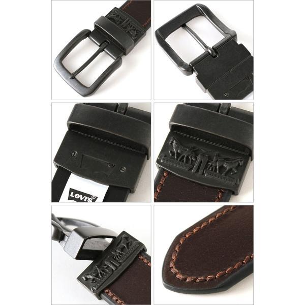 リーバイス ベルト リバーシブル 40mm メンズ 大きいサイズ USAモデル|ブランド Levi's Levis|本革 レザー アメカジ カジュアル|f-box|03