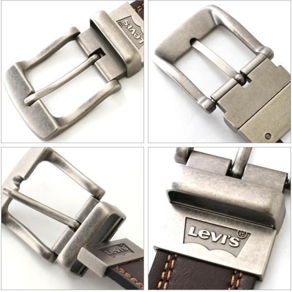 リーバイス ベルト リバーシブル 回転式バックル 大きいサイズ USAモデル|ブランド Levi's Levis|本革 レザー アメカジ カジュアル|f-box|04