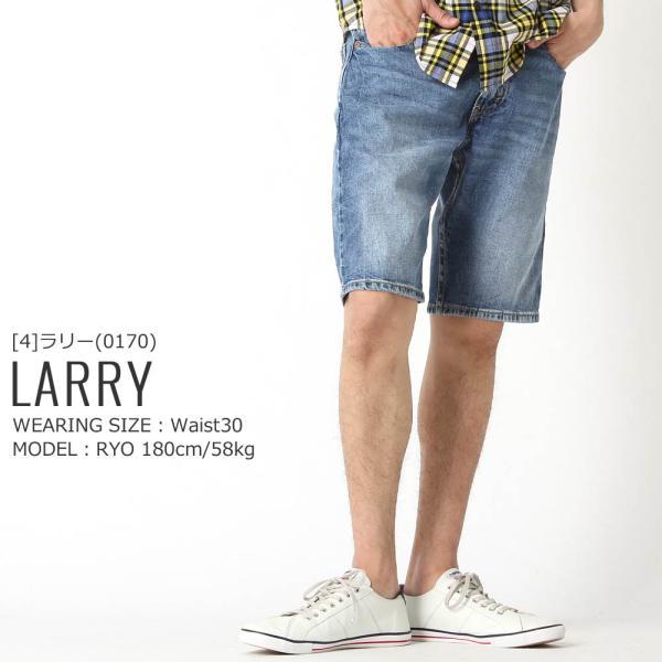 リーバイス 505 ハーフパンツ 膝上 ジッパーフライ ストレッチ 大きいサイズ USAモデル|ブランド Levi's Levis|ジーンズ デニム ショートパンツ アメカジ|f-box|13