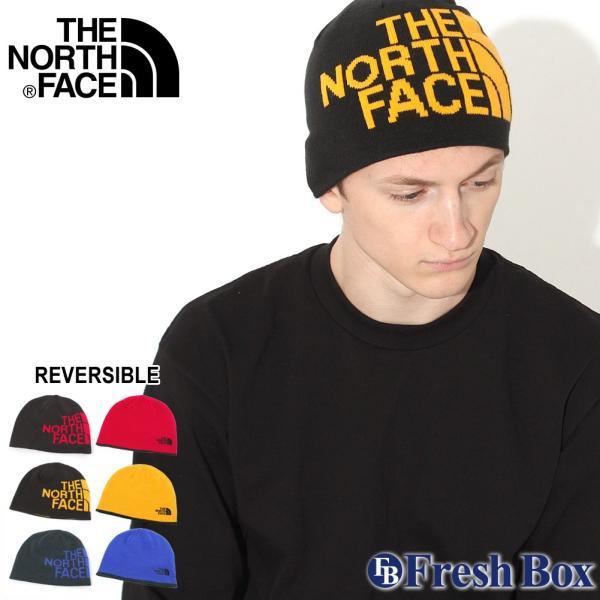 THE NORTH FACE(ザ・ノース・フェイス)『リバーシブル バナー ビーニー』