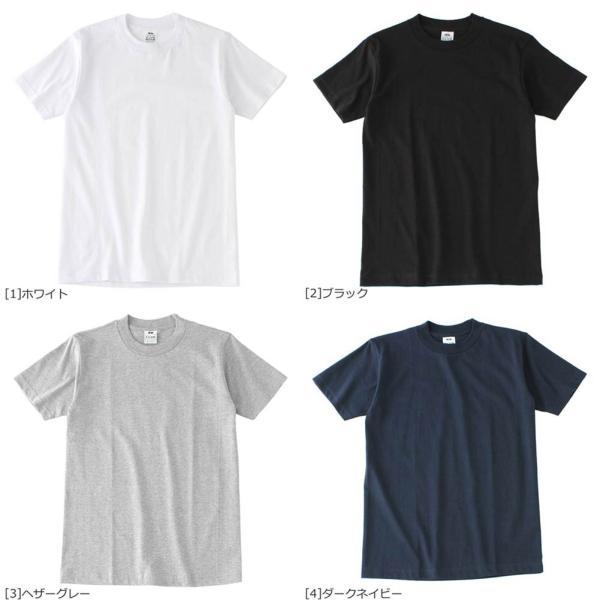 プロクラブ Tシャツ 半袖 クルーネック コンフォート 無地 メンズ 大きいサイズ 102 USAモデル|ブランド PRO CLUB|半袖Tシャツ アメカジ|f-box|03