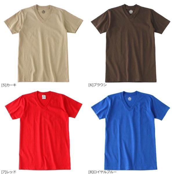 [ビッグサイズ] プロクラブ Tシャツ 半袖 Vネック コンフォート 無地 メンズ 大きいサイズ 106 USAモデル|ブランド PRO CLUB|半袖Tシャツ アメカジ|f-box|04