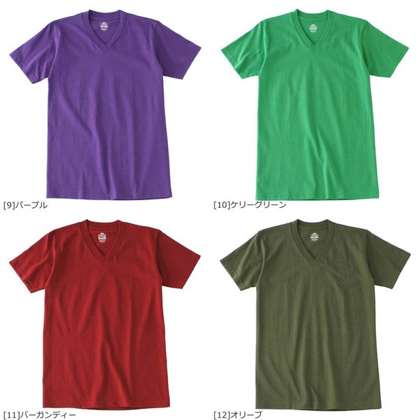 [ビッグサイズ] プロクラブ Tシャツ 半袖 Vネック コンフォート 無地 メンズ 大きいサイズ 106 USAモデル|ブランド PRO CLUB|半袖Tシャツ アメカジ|f-box|05