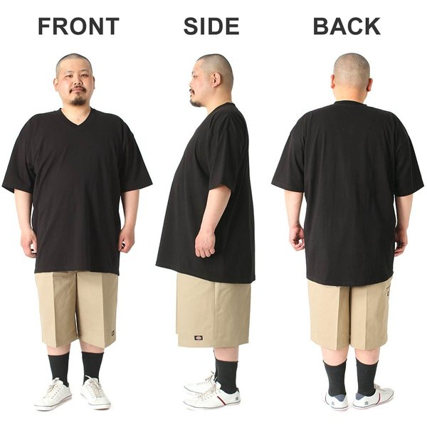 [ビッグサイズ] プロクラブ Tシャツ 半袖 Vネック コンフォート 無地 メンズ 大きいサイズ 106 USAモデル|ブランド PRO CLUB|半袖Tシャツ アメカジ|f-box|08