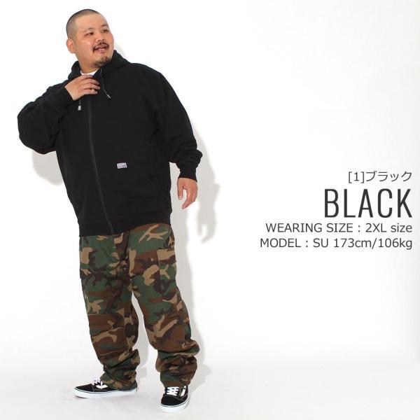 [ビッグサイズ] プロクラブ パーカー ジップアップ ヘビーウェイト 厚手 無地 メンズ 裏起毛 大きいサイズ USAモデル ブランド PRO CLUB スウェット f-box 12