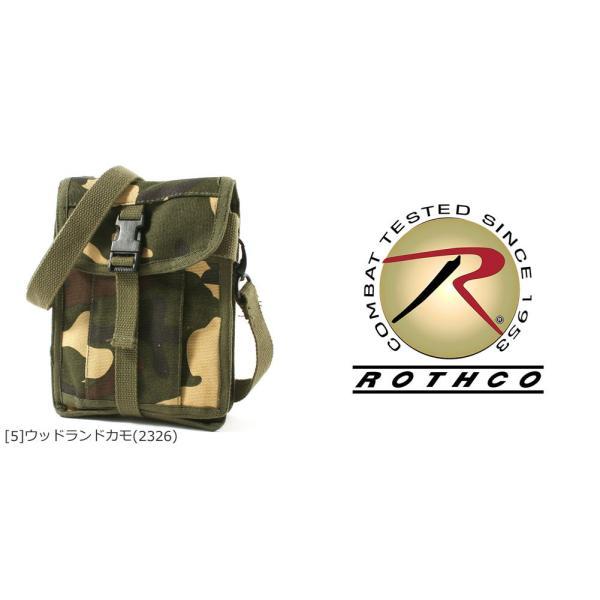 ロスコ バッグ ショルダーバッグ ミニ 縦型 メンズ レディース トラベルケース USAモデル 米軍|ブランド ROTHCO|f-box|03