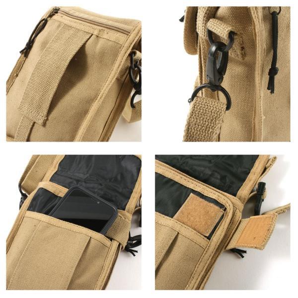 ロスコ バッグ ショルダーバッグ ミニ 縦型 メンズ レディース トラベルケース USAモデル 米軍|ブランド ROTHCO|f-box|06