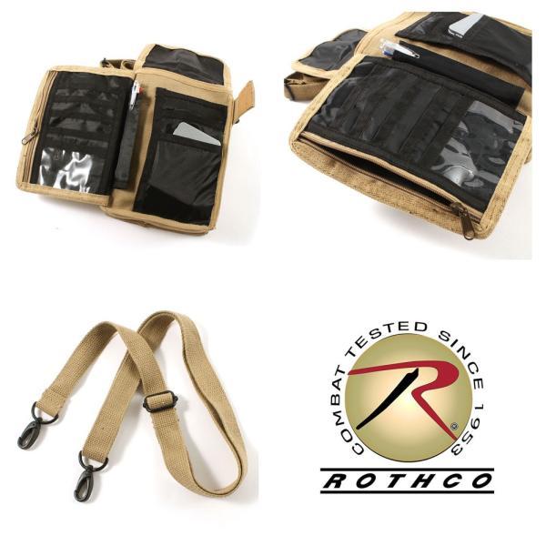 ロスコ バッグ ショルダーバッグ ミニ 縦型 メンズ レディース トラベルケース USAモデル 米軍|ブランド ROTHCO|f-box|07