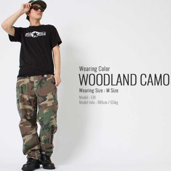 ロスコ カーゴパンツ メンズ ヴィンテージ加工 ファティーグパンツ 大きいサイズ USAモデル 米軍|ブランド ROTHCO|ミリタリー 迷彩|f-box|06