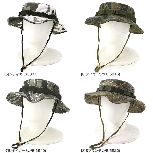 ロスコ サファリハット 迷彩 紐付き メンズ レディース 大きいサイズ USAモデル 米軍|ブランド ROTHCO|帽子 折りたたみ ブーニーハット ミリタリー アウトドア|f-box|06