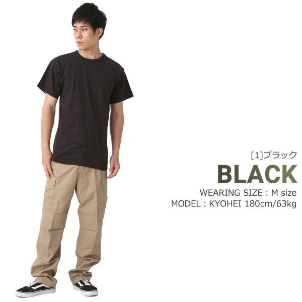 ロスコ Tシャツ 半袖 クルーネック 無地 コットン メンズ 大きいサイズ USAモデル|ブランド ROTHCO|半袖Tシャツ アメカジ ミリタリー|f-box|10