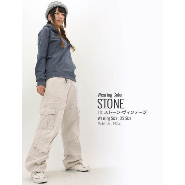 ROTHCO ロスコ カーゴパンツ レディース ゆったり ファティーグパンツ 8ポケット大きいサイズ レディース パンツ ダンス 衣装 f-box 11