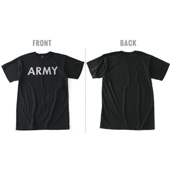 ロスコ Tシャツ 半袖 メンズ 大きいサイズ USAモデル 米軍|ブランド ROTHCO|半袖Tシャツ ミリタリー ロゴ プリント|f-box|13