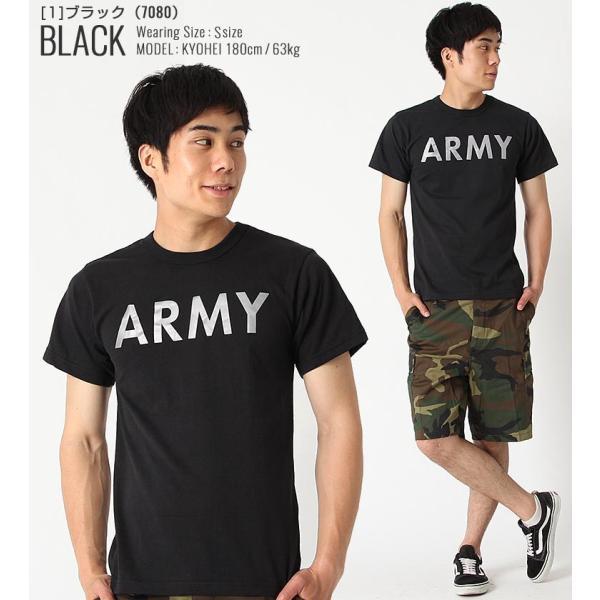 ロスコ Tシャツ 半袖 メンズ 大きいサイズ USAモデル 米軍|ブランド ROTHCO|半袖Tシャツ ミリタリー ロゴ プリント|f-box|16