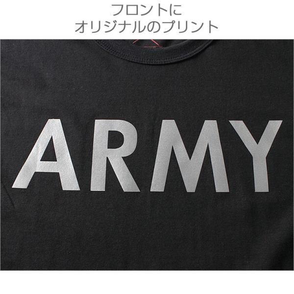 ロスコ Tシャツ 半袖 メンズ 大きいサイズ USAモデル 米軍|ブランド ROTHCO|半袖Tシャツ ミリタリー ロゴ プリント|f-box|06