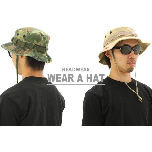 ロスコ 帽子 サファリハット あご紐 メンズ レディース ヴィンテージ加工 ブーニーハット USAモデル 米軍|ブランド ROTHCO|ミリタリー アウトドア 迷彩 無地|f-box|04