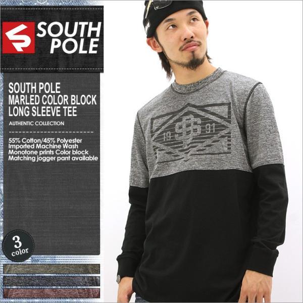 ロンt/メンズ/大きいサイズ/長袖/tシャツ/長袖tシャツ/プリント/SOUTH POLE/サウスポール|f-box