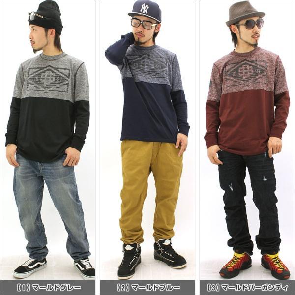 ロンt/メンズ/大きいサイズ/長袖/tシャツ/長袖tシャツ/プリント/SOUTH POLE/サウスポール|f-box|02