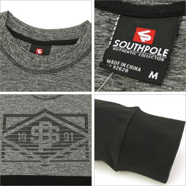 ロンt/メンズ/大きいサイズ/長袖/tシャツ/長袖tシャツ/プリント/SOUTH POLE/サウスポール|f-box|03