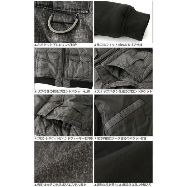 サウスポール 中綿ジャケット フード メンズ|大きいサイズ USAモデル SOUTH POLE|ナイロンジャケット 防寒 アウター ブルゾン (clearance) (half)|f-box|04