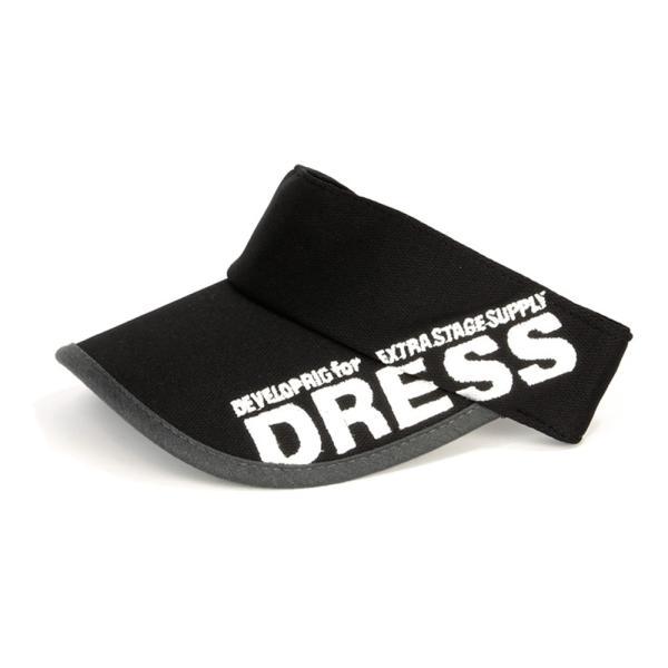 サンバイザー キャップ メンズ レディース DRESS オリジナルサンバイザー ブラックVer.|f-dress|12