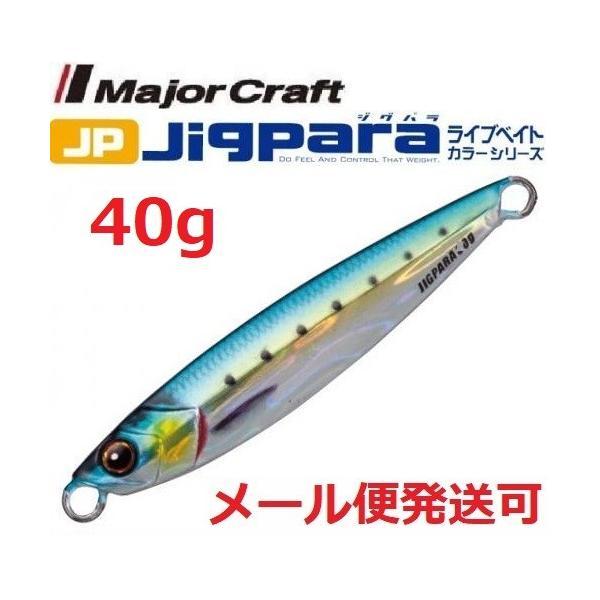 メジャークラフト ジグパラ ショート ライブベイト カラー 40g 81 ライブ金イワシ 199146
