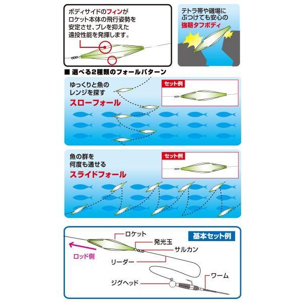ハヤブサ アジロケット S #2 ケイムラ 852926