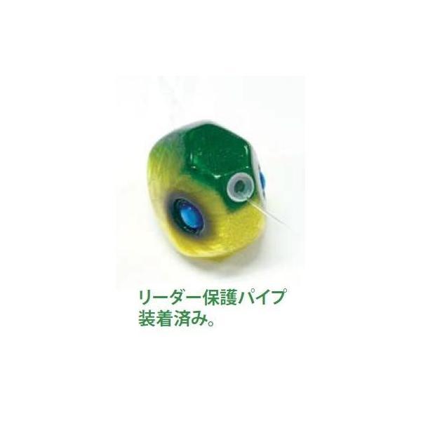 ハヤブサ 無双真鯛 貫撃遊動テンヤFD 8号 3.ミドキンホロ  923855