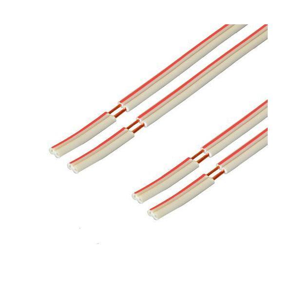 スピーカーケーブル赤白(OFC)5m×2本セットC-077