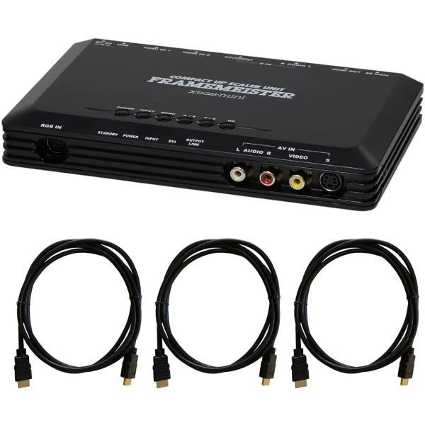 マイコンソフト FRAMEMEISTER N(フレームマイスター)XRGB-mini アップスケーラー・ユニット DP3913547|f-fact