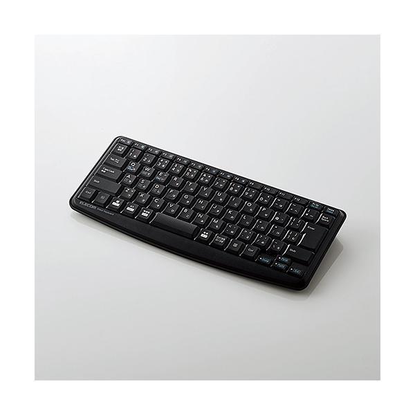 エレコム(ELECOM) Bluetoothミニキーボード/メンブレン式/静音設計/ブラック TK-FBM093SBK f-fact