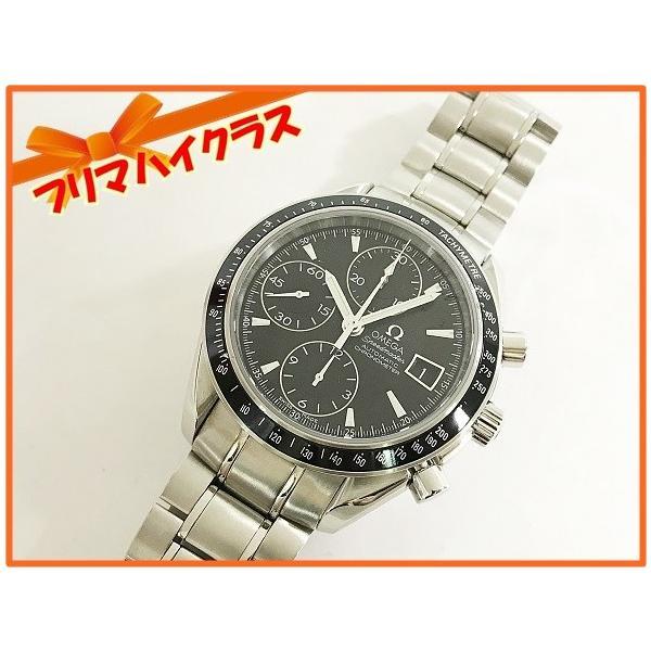 OMEGA オメガ 腕時計 スピードマスター 3210.50 自動巻き オートマティック ステンレススティール SS 極美品 中古 シルバー とけい|f-high-c