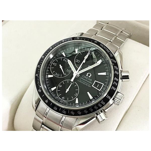 OMEGA オメガ 腕時計 スピードマスター 3210.50 自動巻き オートマティック ステンレススティール SS 極美品 中古 シルバー とけい|f-high-c|02