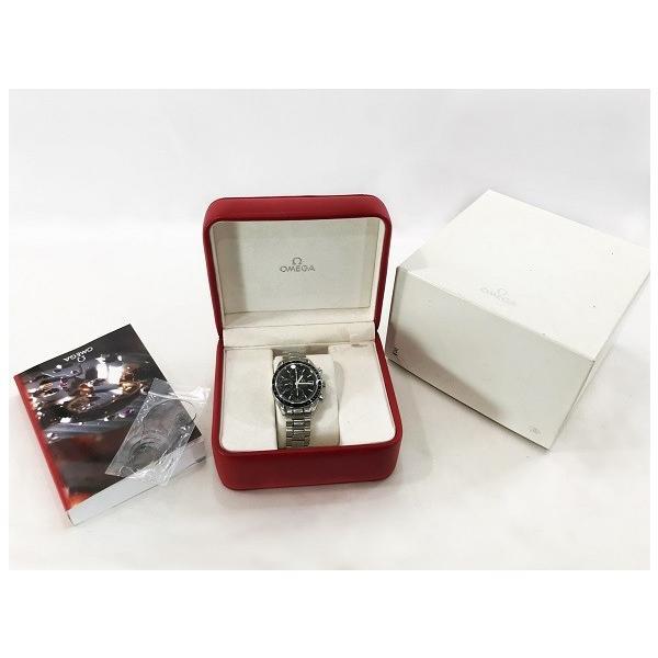 OMEGA オメガ 腕時計 スピードマスター 3210.50 自動巻き オートマティック ステンレススティール SS 極美品 中古 シルバー とけい|f-high-c|03