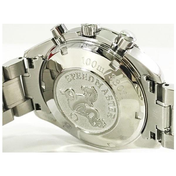 OMEGA オメガ 腕時計 スピードマスター 3210.50 自動巻き オートマティック ステンレススティール SS 極美品 中古 シルバー とけい|f-high-c|06