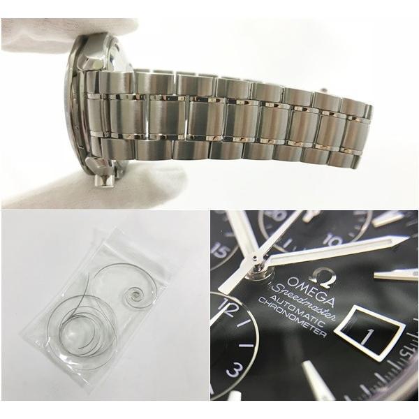 OMEGA オメガ 腕時計 スピードマスター 3210.50 自動巻き オートマティック ステンレススティール SS 極美品 中古 シルバー とけい|f-high-c|09