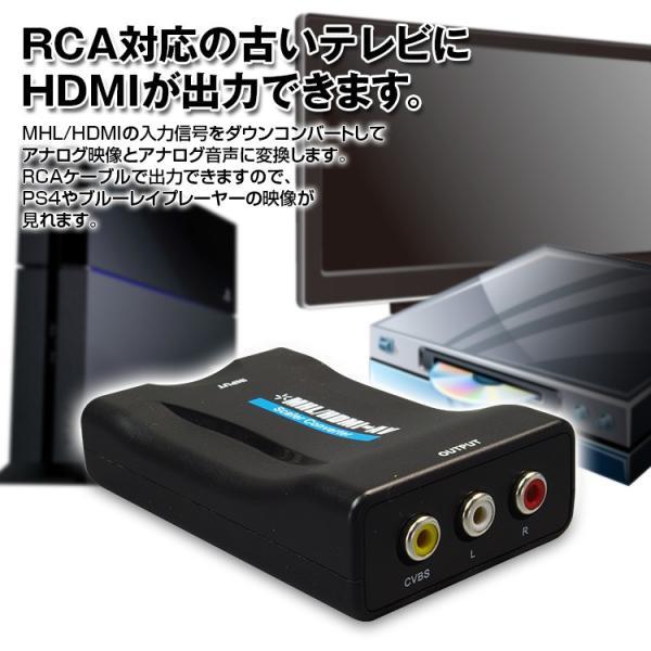 HDMI/MHL 変換 コンバーター インターナビ internavi 純正ナビ モニター RCA AV スマートフォン iPhone アンドロイド Android Xperia Galaxy|f-innovation|04