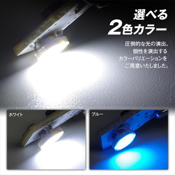 定形外送料無料 LED T10 ウェッジ球 LEDバルブ スティック型 高輝度6チップ LED球 SMD ホワイト ブルー バック球|f-innovation|03