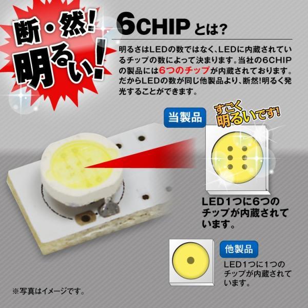 定形外送料無料 LED T10 ウェッジ球 LEDバルブ スティック型 高輝度6チップ LED球 SMD ホワイト ブルー バック球|f-innovation|04