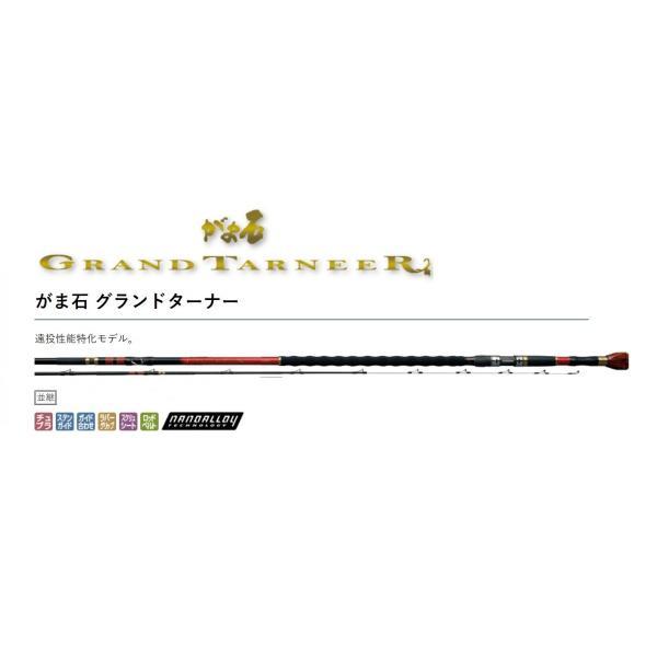(予約・送料無料)がまかつ がま石 グランドターナー 5.4m