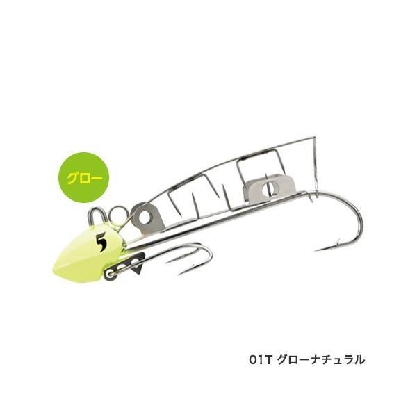 (数量限定)シマノ 太刀魚ゲッター ツイン噛む OO-006L 6号 01Tグローナチュラル タチウオテンヤ (メール便対応)