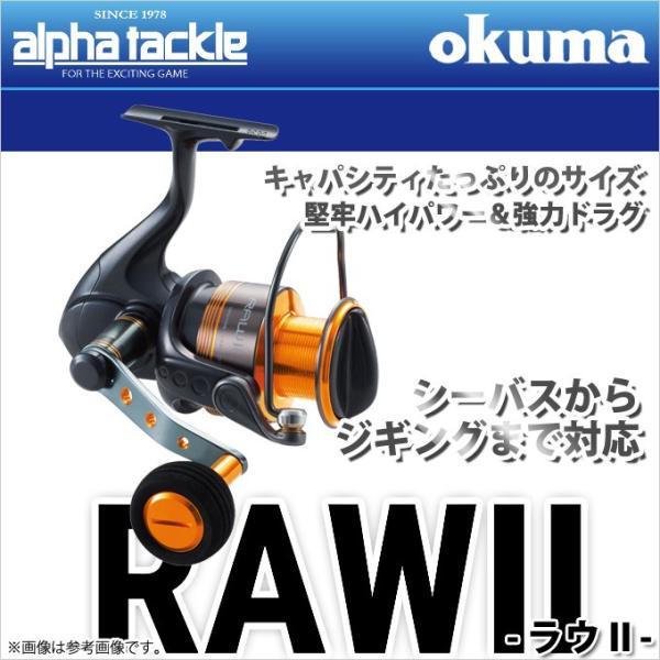 【取り寄せ商品】アルファタックル オクマ ラウII (30)(スピニングリール)