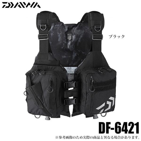 ダイワDF-6421ライトフロートゲームベスト(ブラック)/(5)