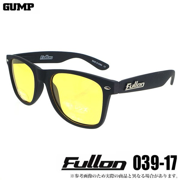 ガンプ Fullon(フローン)FBL-039-17 イエロー 偏光サングラス/(5)